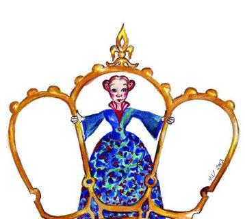 kuningatar_ahneli_piirroskuva